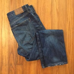 Madewell Straight Leg Crop Jean